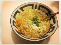 Aguadito, ou soupe péruvienne au poulet